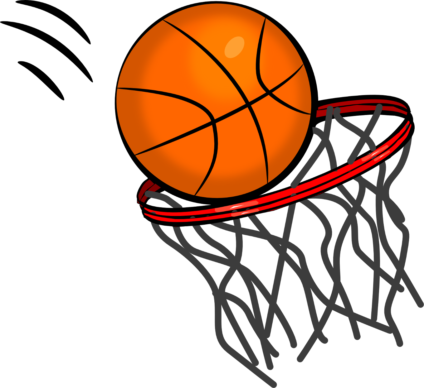 basketball net clipart free - photo #2